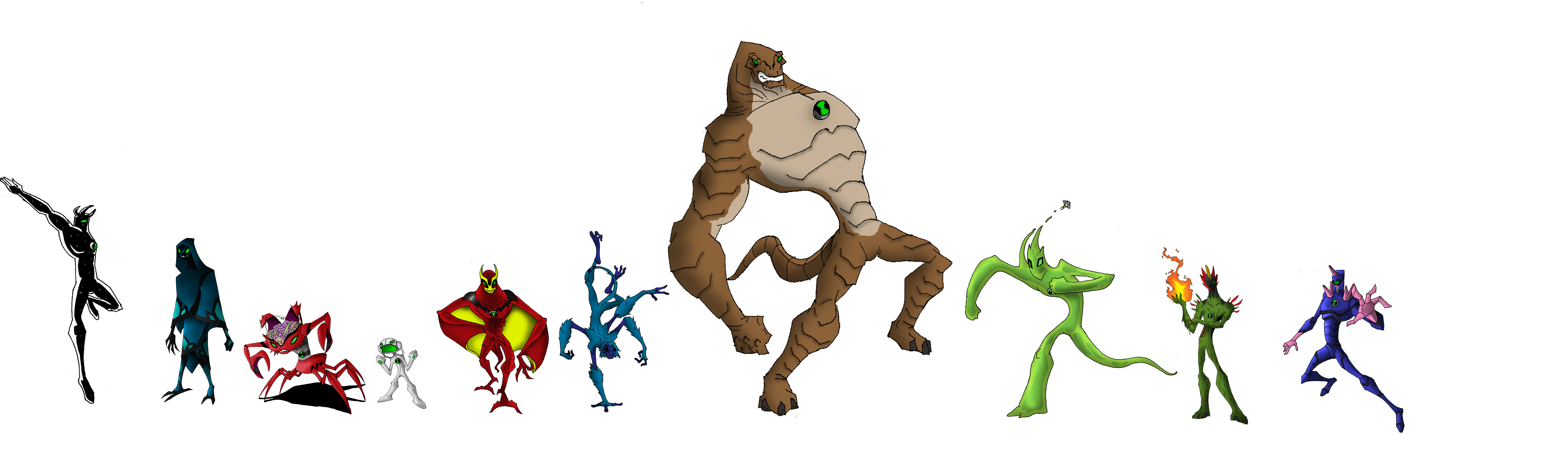 4983x1488 Ben 10 Alien Force Doom's Day By Alorix