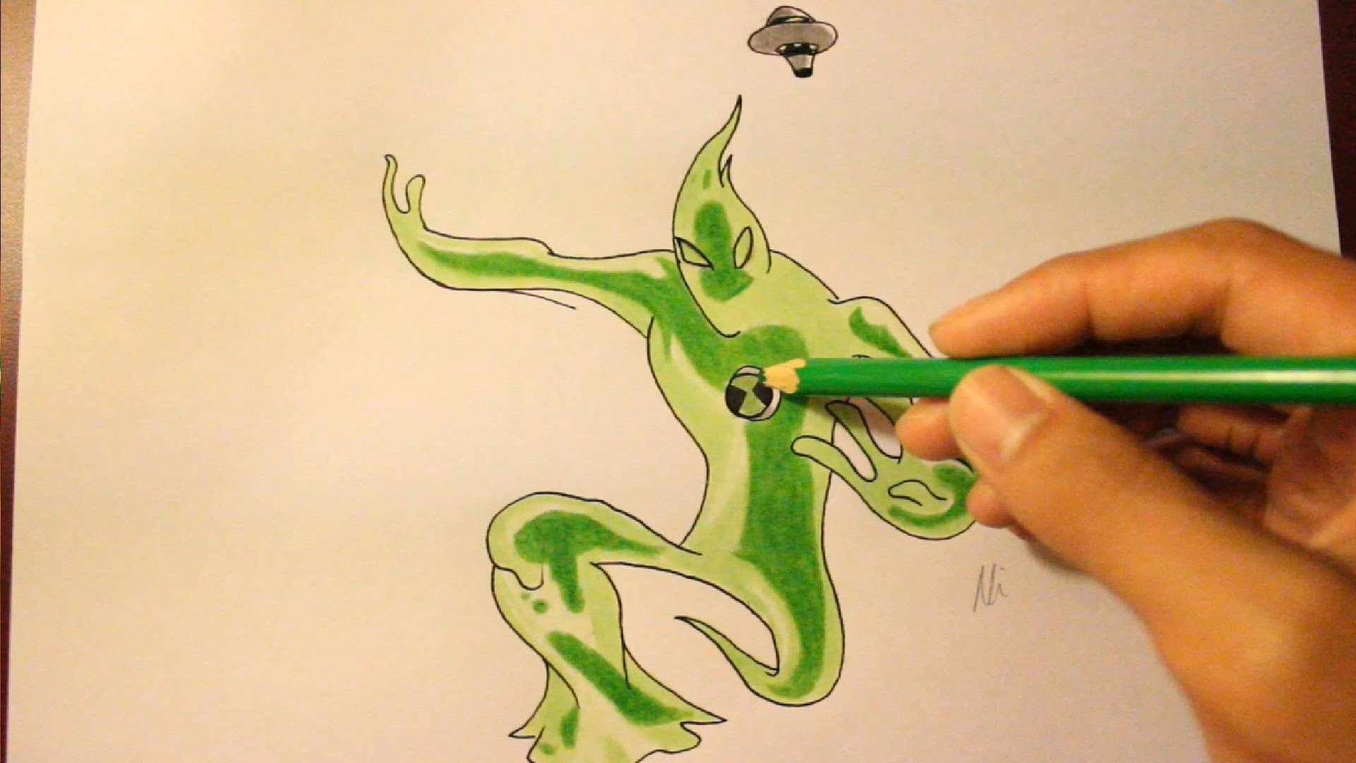 1920x1080 How To Draw Goop From Ben 10 Ultimate Aliens