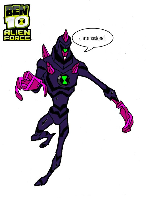 600x825 Ben 10 Alien Force Chromastone By Watermummy7