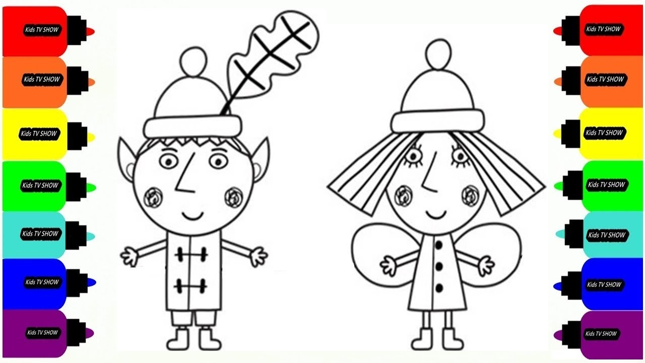 Ben And Holly Drawing at GetDrawings Free for