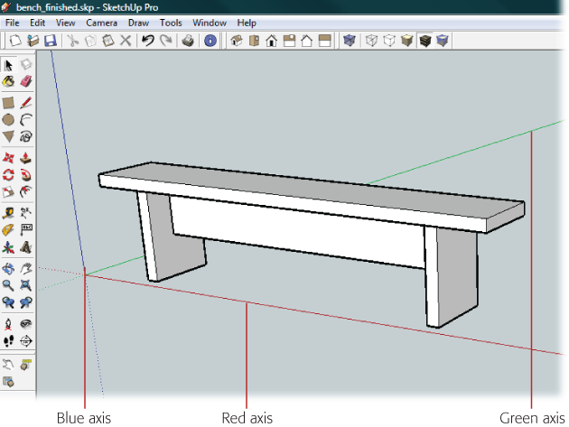 630x473 1. Building A Bench Your First Sketchup Model