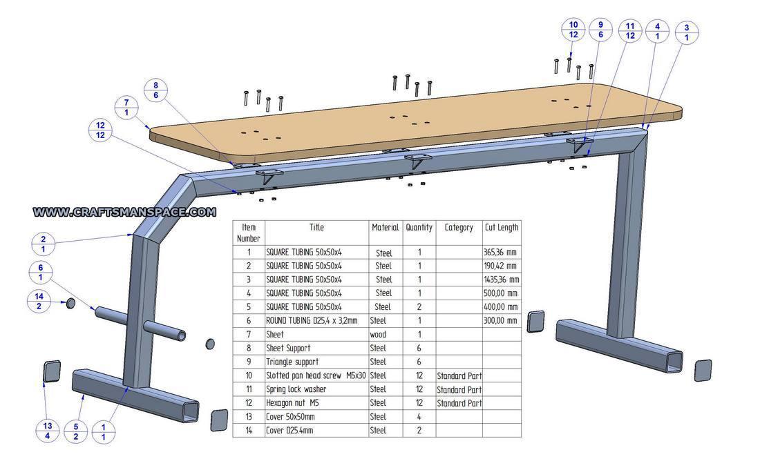 1100x681 Flat Bench Press Plan
