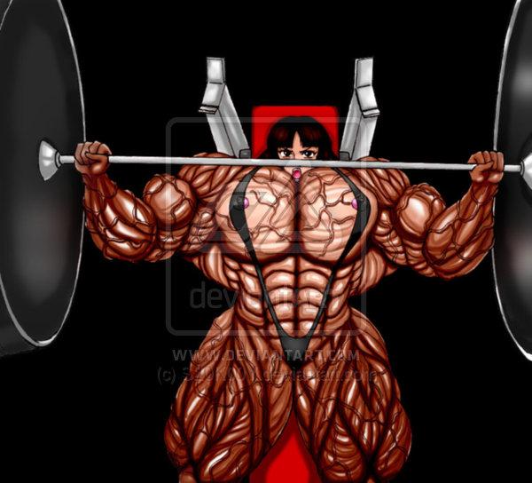600x544 Big Bench Press By Tricklll