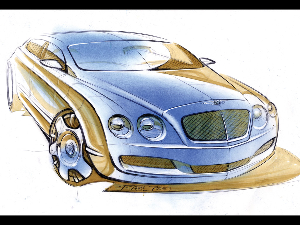 1024x768 2005 Bentley Continental Flying Spur