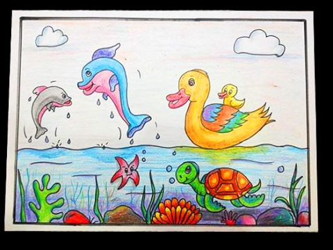 480x360 Best Drawing For Kids