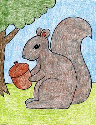 307x400 Squirrel Squirrel, Tutorials And Printing