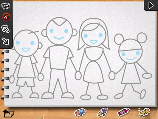 530x398 Iluv Drawing People Best Kids Apps Ipad Iphone Directed