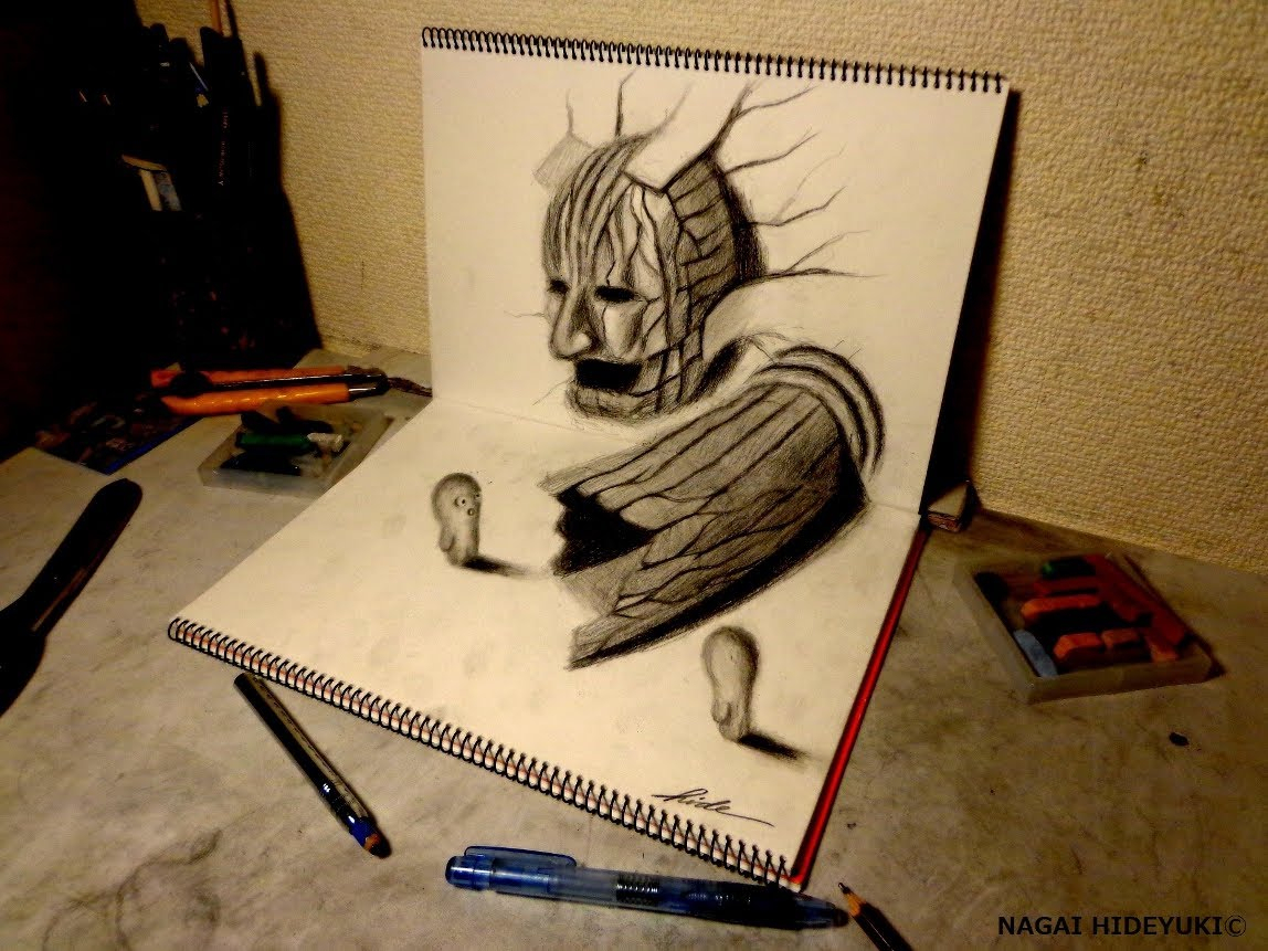 1148x861 best drawing in the world drawn 3d worlds good