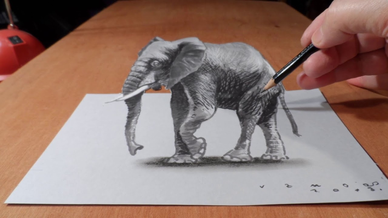 1280x720 Top 10 Best 3d Drawing In The World.