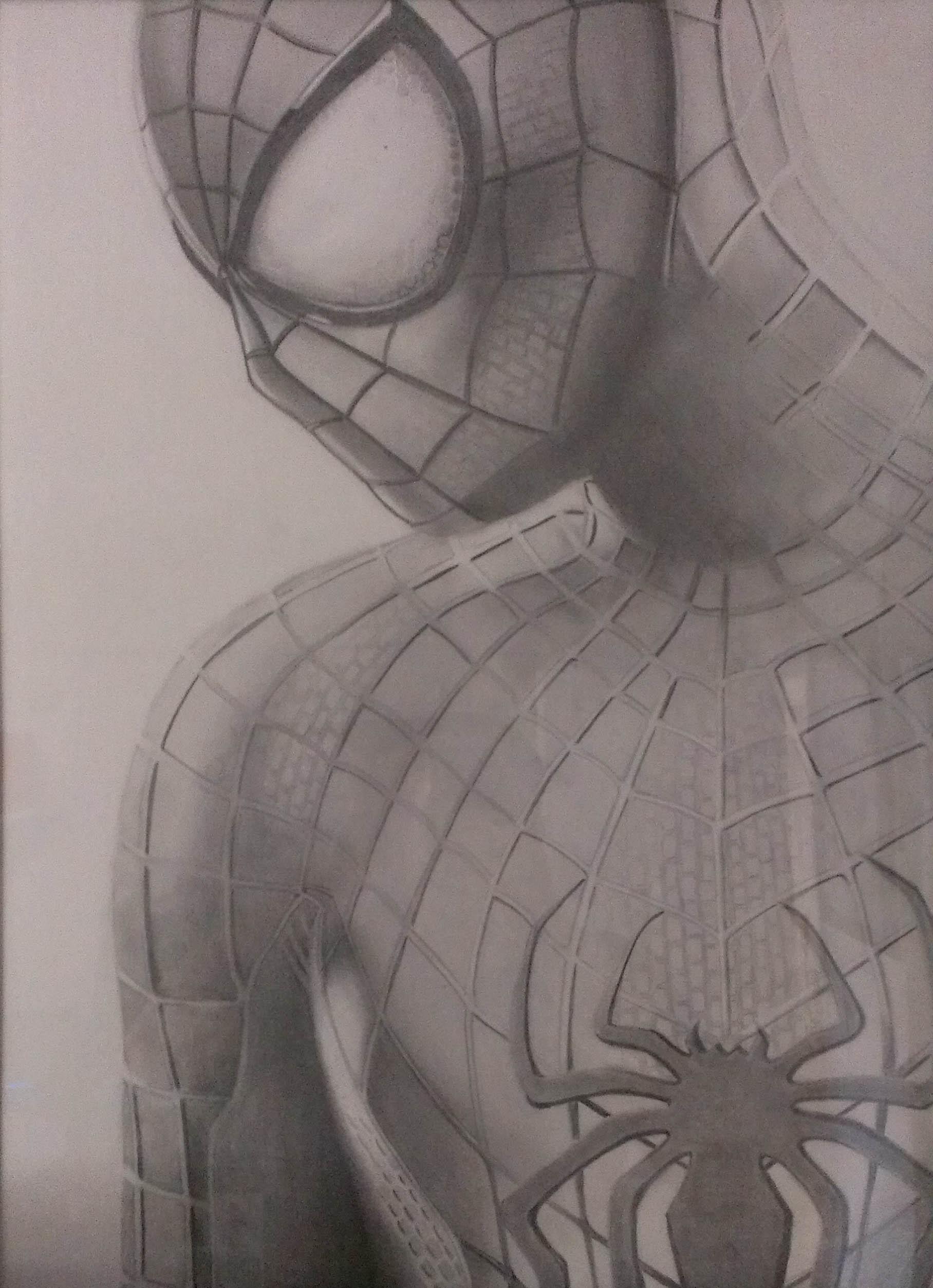 1816x2508 World's Best Pencil Sketch Of Spiderman Amazing Spiderman 2