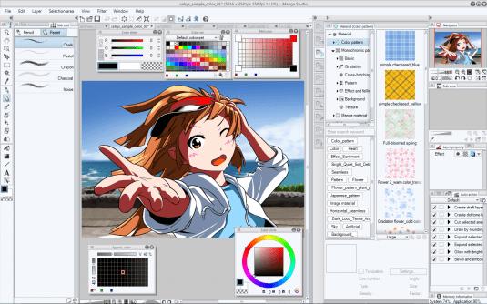 535x334 10 Free Amp Best Manga Drawing Software