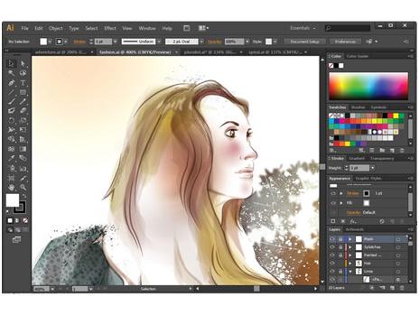 464x349 Adobe Illustrator Cs6 The Best Vector Drawing Tool