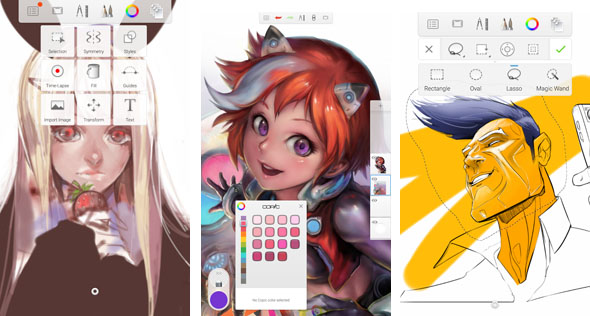 590x316 5 Best Free Android Apps For Drawing, Sketching And Painting