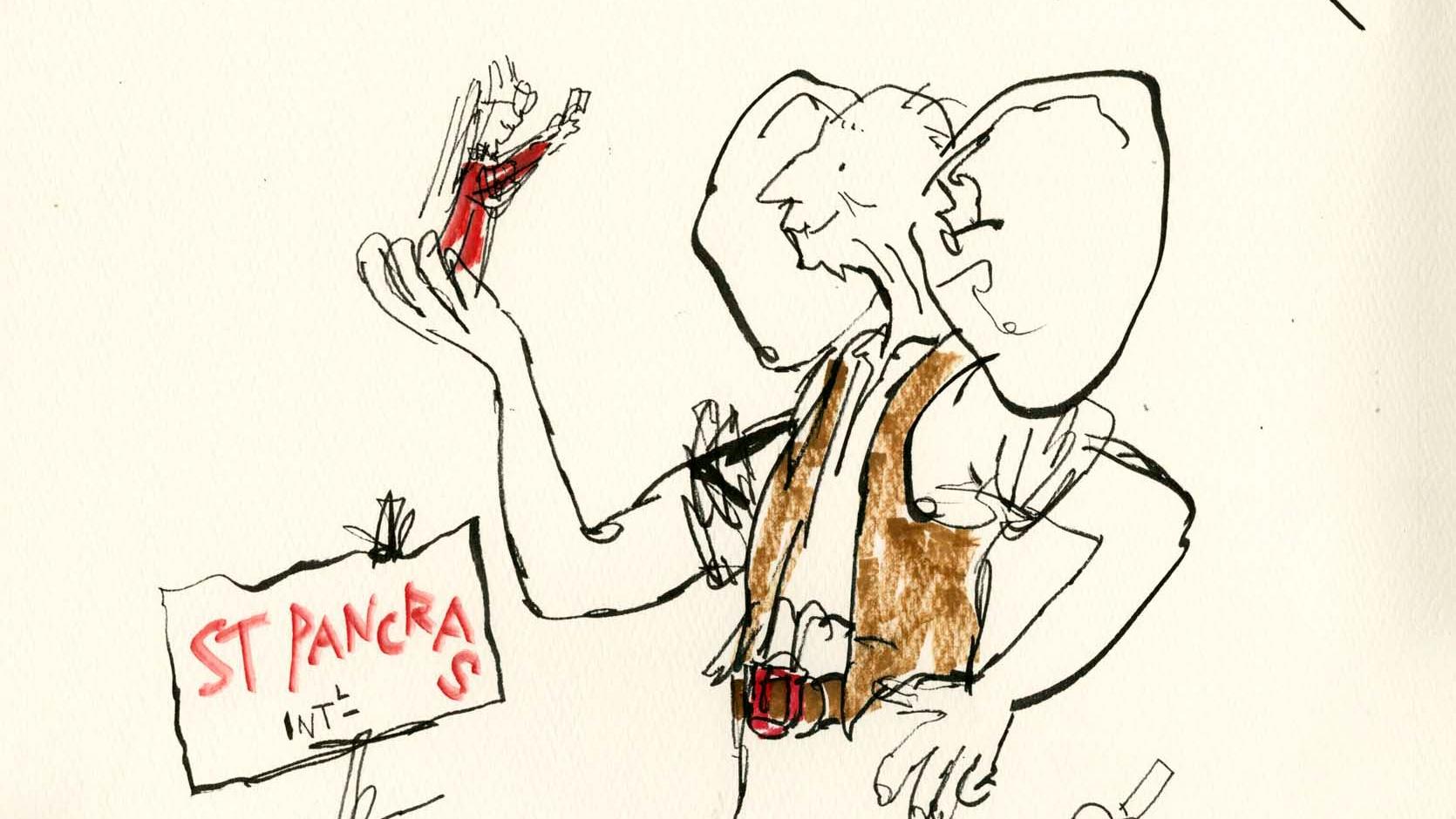 1670x940 Quentin Blake Has Drawn A New Bfg Illustration
