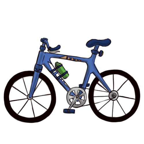 bicycle cartoon drawing at getdrawings com free for personal use rh getdrawings com cartoon bikes for kids you tube cartoon bikes to draw