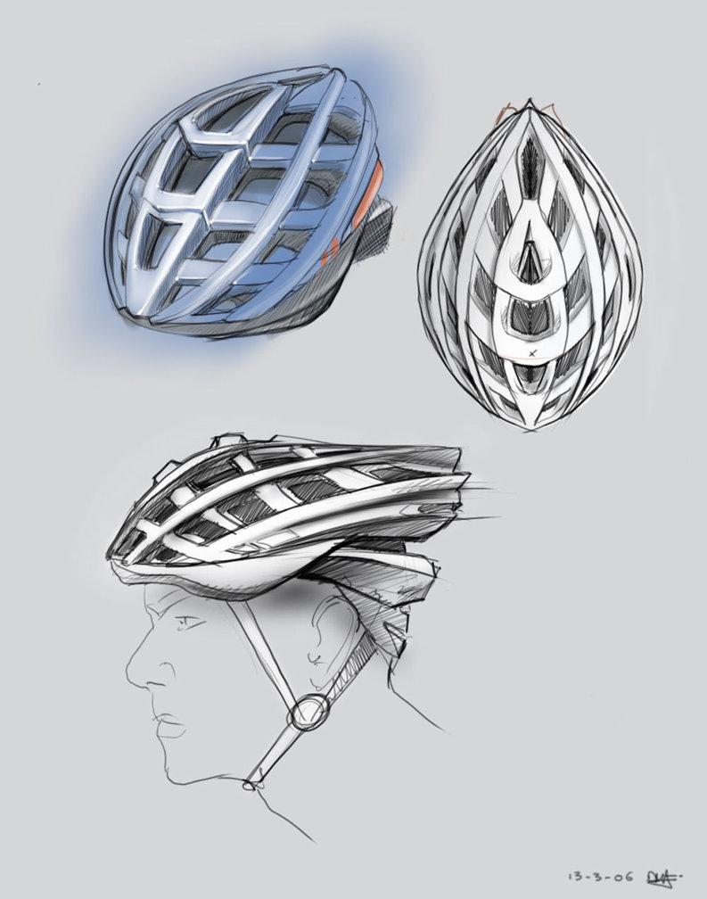 793x1008 Bike Helmet Design By Pnugget Biking Helmet Design