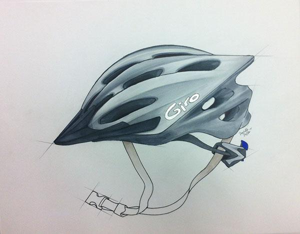 600x469 Giro Bike Helmet Rendering On Behance