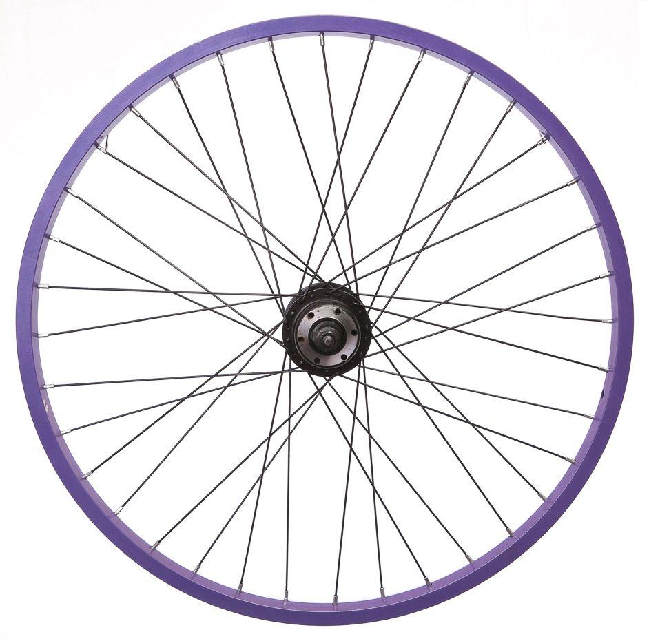 942x931 Dunlop 24 Rear Mountain Bike Wheel Dark Purple Rim Disc 5 67 Speed