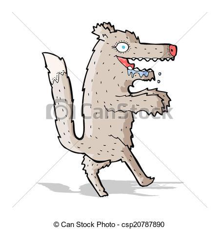449x470 Cartoon Big Bad Wolf Eps Vectors