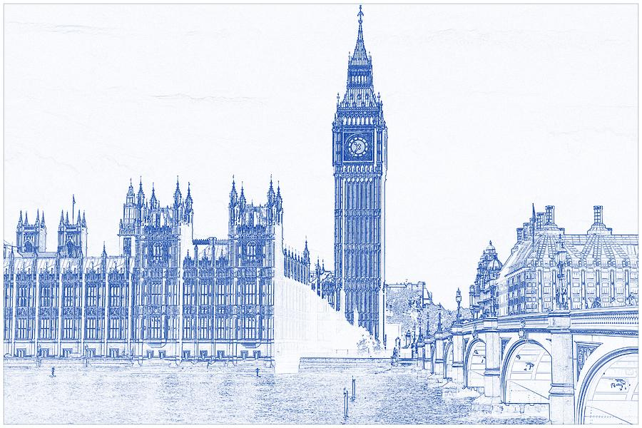 Big ben drawing at getdrawings free for personal use big ben 900x600 drawing of modern building 8 london big ben tower painting by malvernweather Choice Image