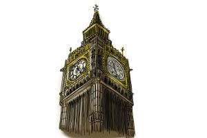 300x200 How To Draw Realistic Big Ben