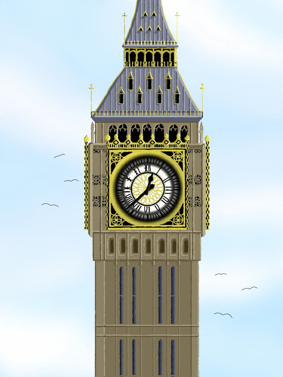 900x1200 London's Big Ben By Pwahy