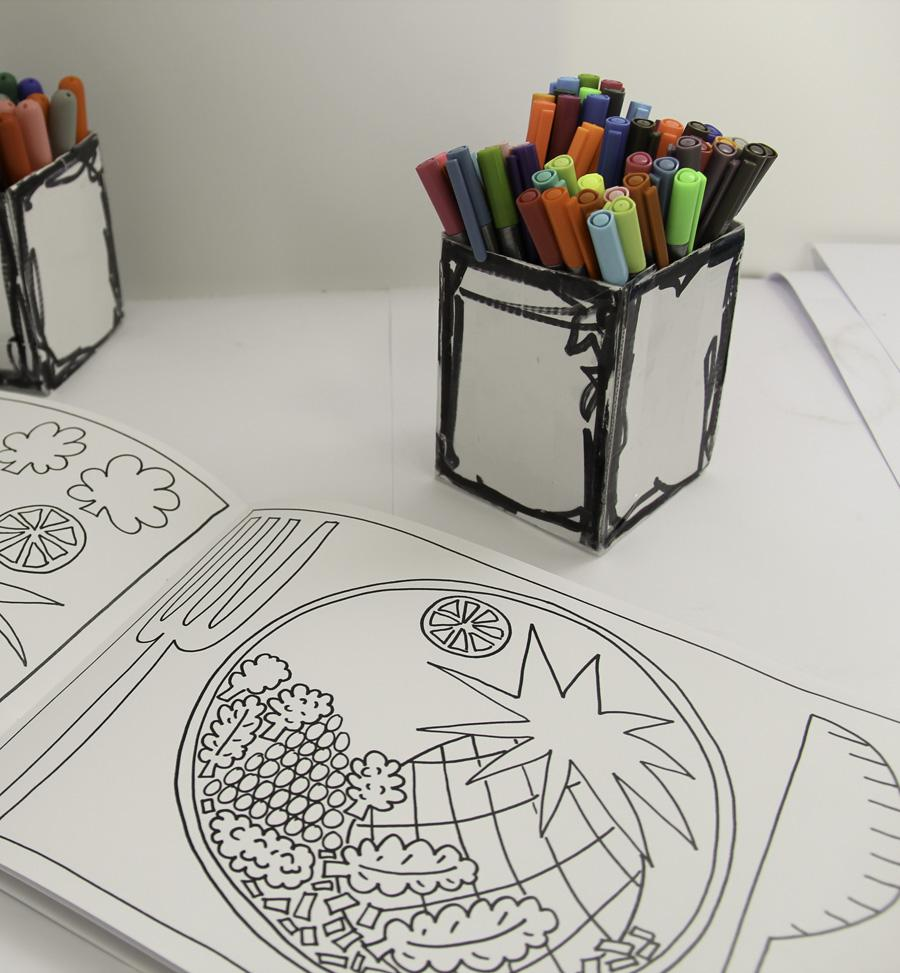 900x973 Ready Steady Colour The Colouring Book (With Complimentary Big