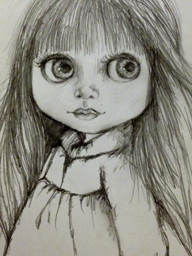376x500 Pop Art Minis An Inspired Sketch Big Eyes, Blythe Fun!