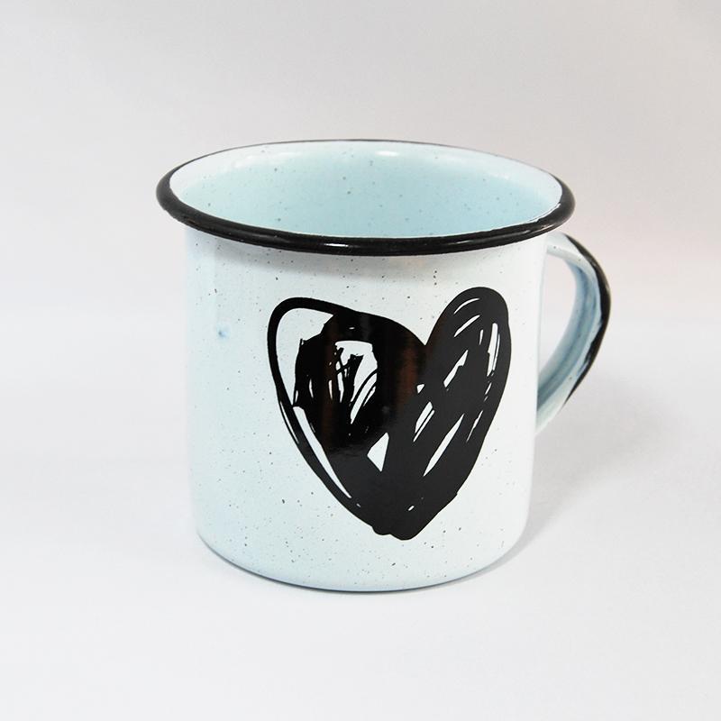 800x800 Big Enamel Mug Heart Drawing Design 16 Oz Artradition Purpose Market