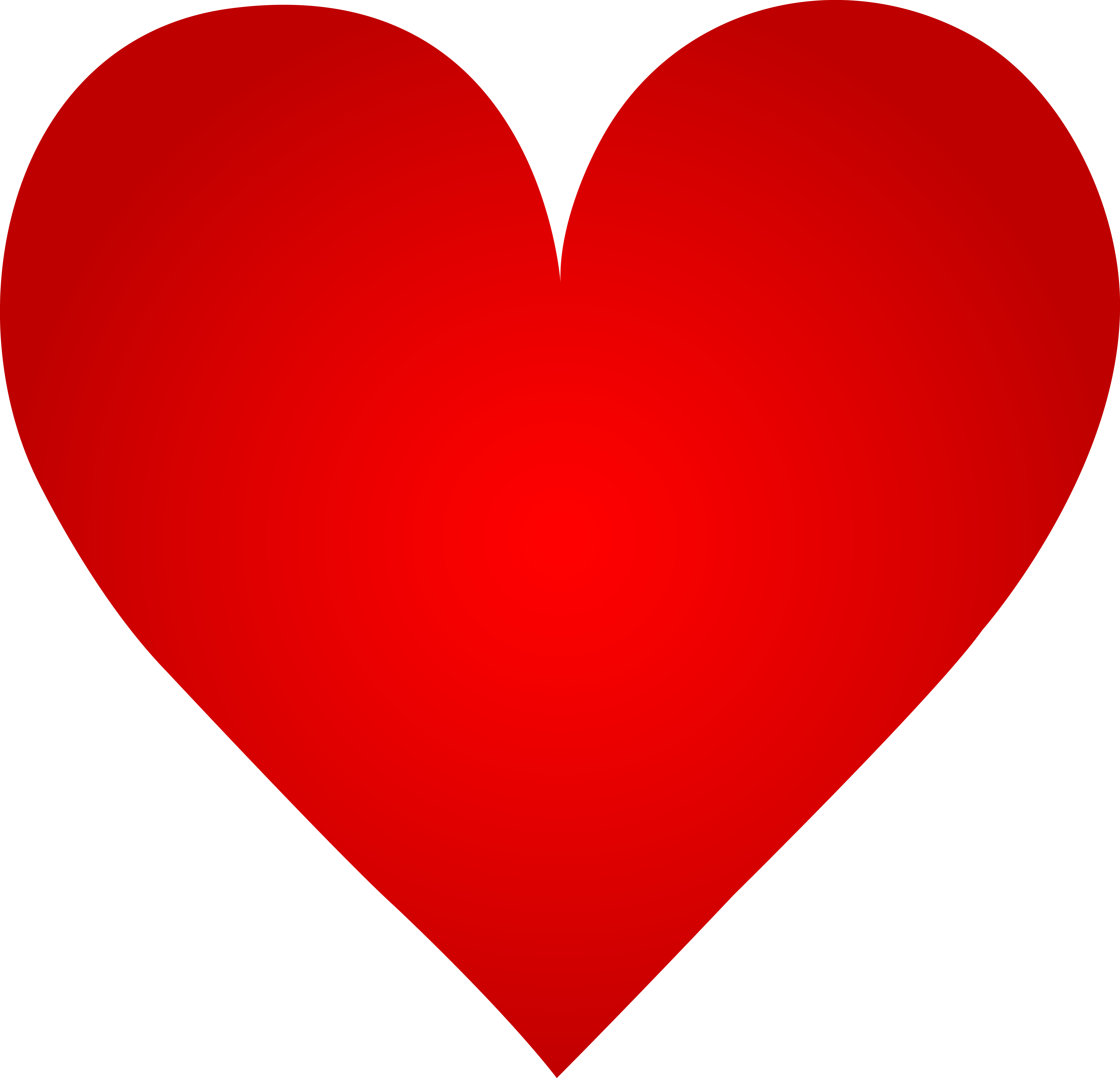 7989x7692 Big Red Heart