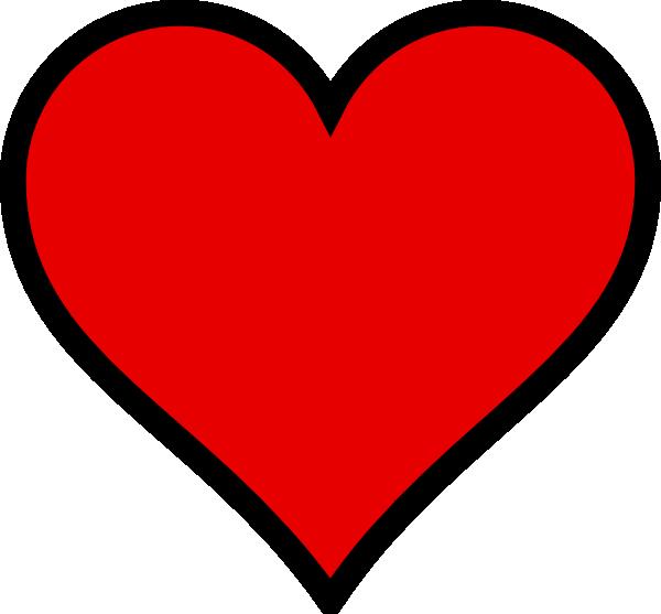 600x557 Heart 3 Clip Art