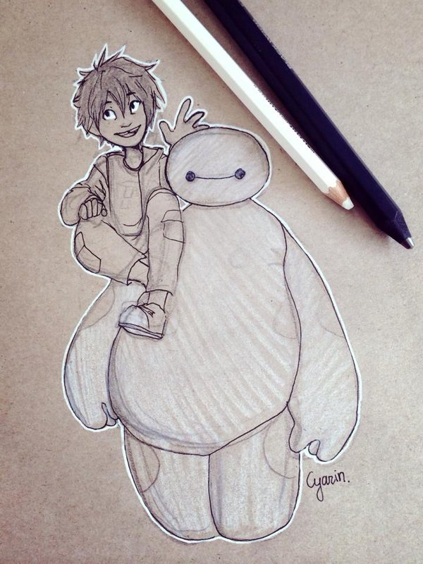 600x800 Hiro And Baymax Big Hero 6 By Cyarin On Find More