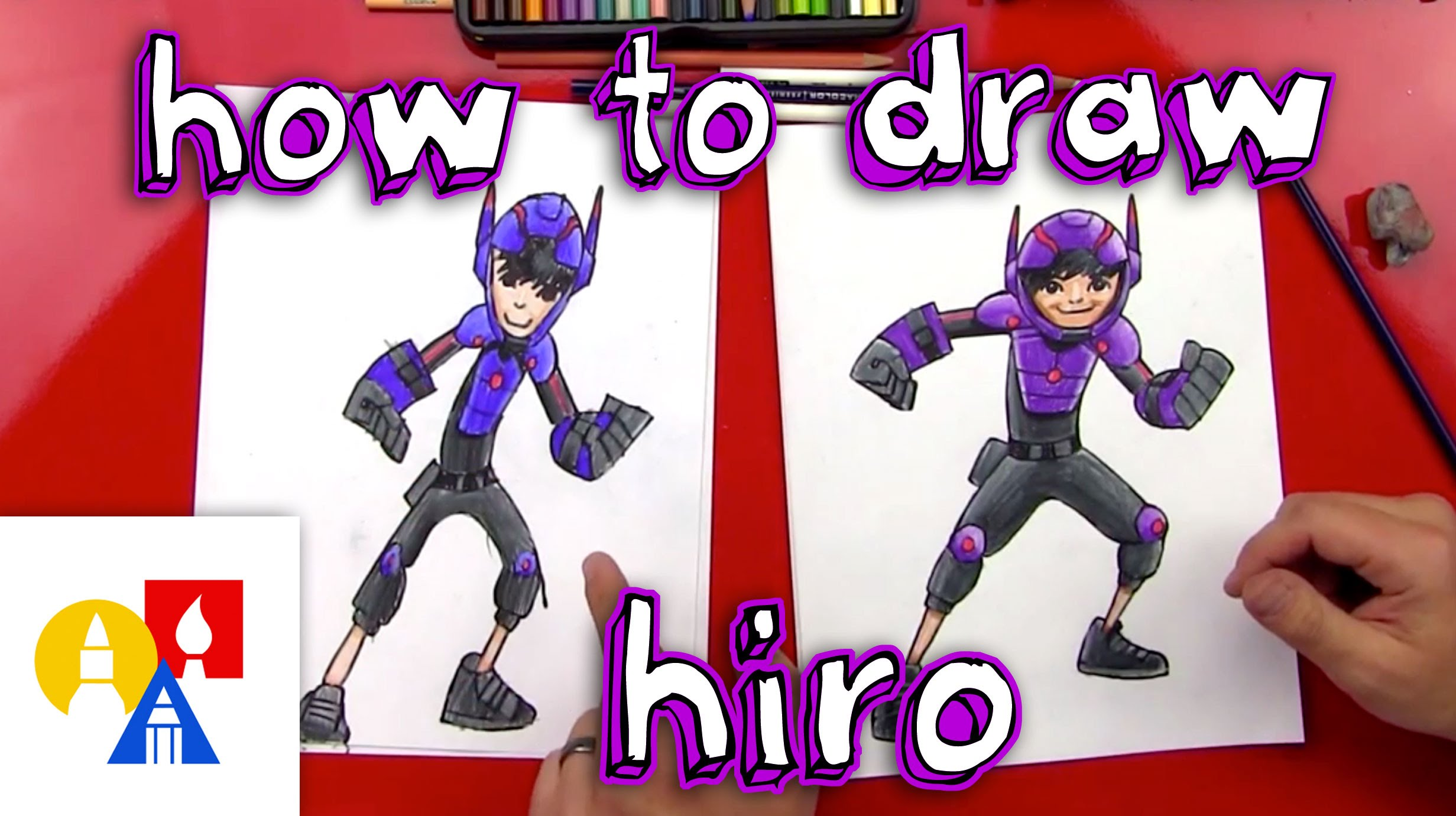 2463x1381 How To Draw Hiro From Big Hero 6