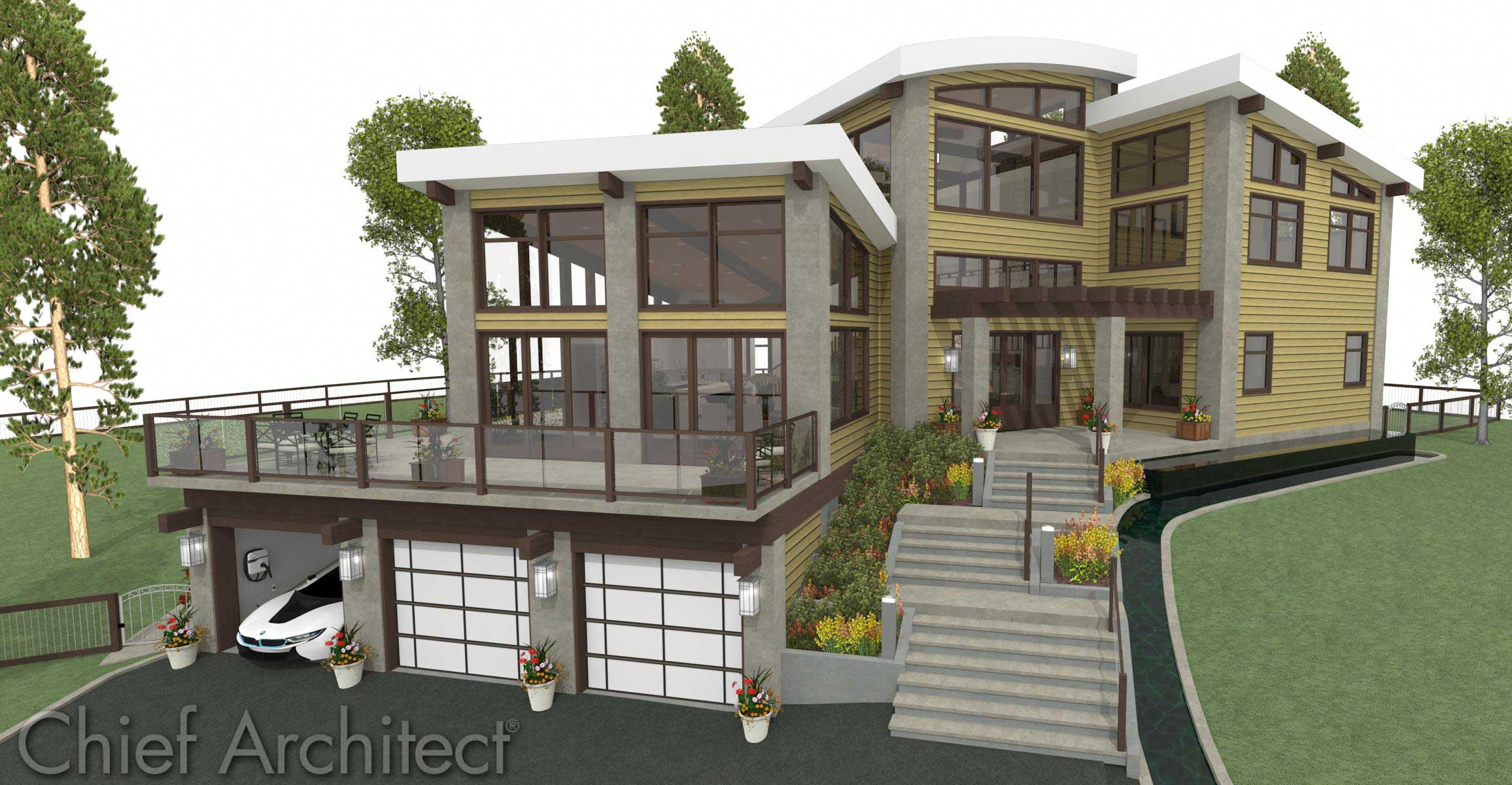 2312x1200 Chief Architect Home Design Software Samples Gallery With Houses