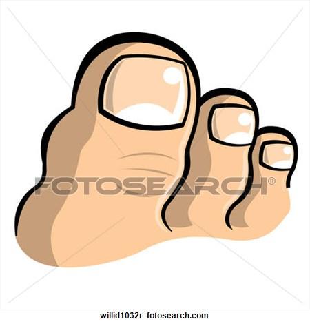 450x470 Big Toe Clipart