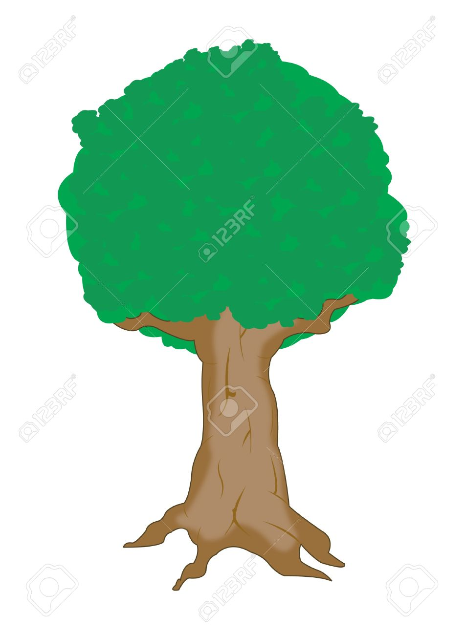 Big Tree Drawing at GetDrawings.com | Free for personal use Big Tree ...