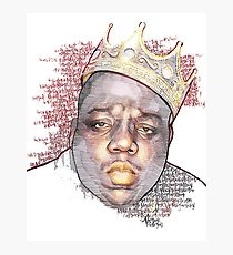 210x230 Biggie Smalls Drawing Photographic Prints Redbubble