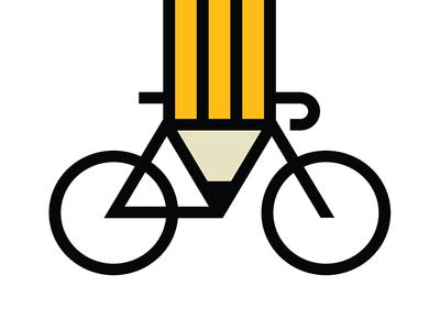 400x300 Bike Drawing By Allan Peters