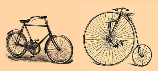 504x227 Vintage Bike Drawing 2015 Images