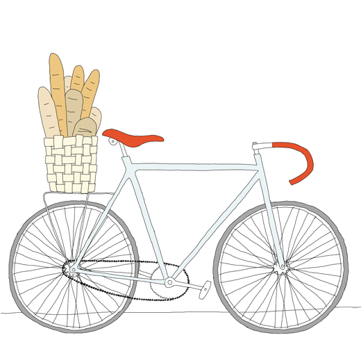 520x512 Bread Bike (Drawing By Johanna Kindvall) By Me