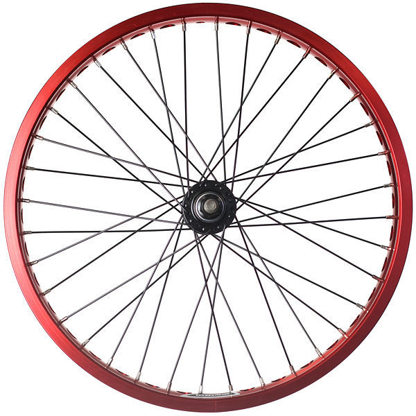 600x600 Alloy Bmx Bike Wheels Wheelset Narrow Rims Red 642872714885 Ebay