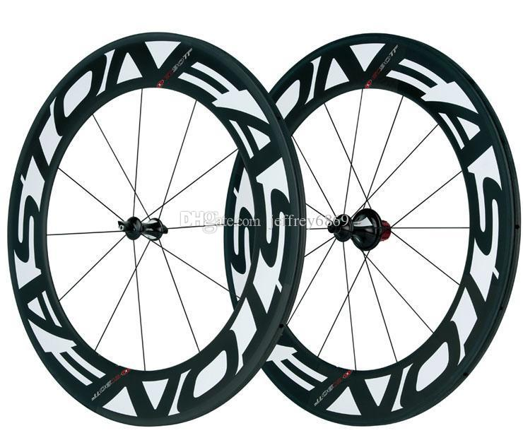 740x630 Full Of 88mm Bicycle Wheels 700c Carbon Clincher Wheelset 3k Matte