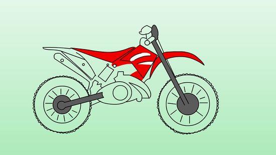 how to draw quad bikes