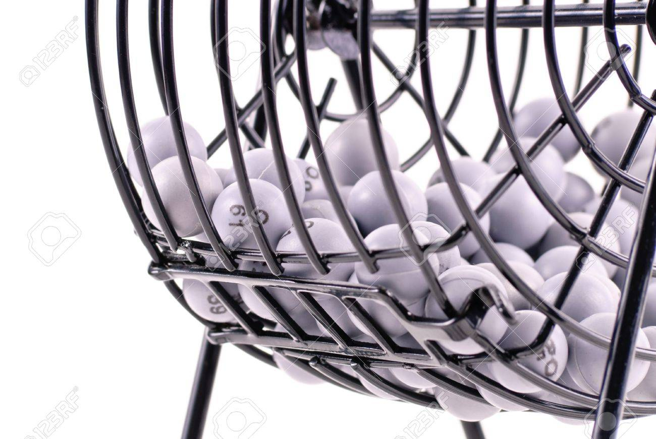 1300x870 Bingo Drawing Balls In Cage Stock Photo, Picture And Royalty Free