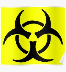 210x230 Biohazard Drawing Posters Redbubble