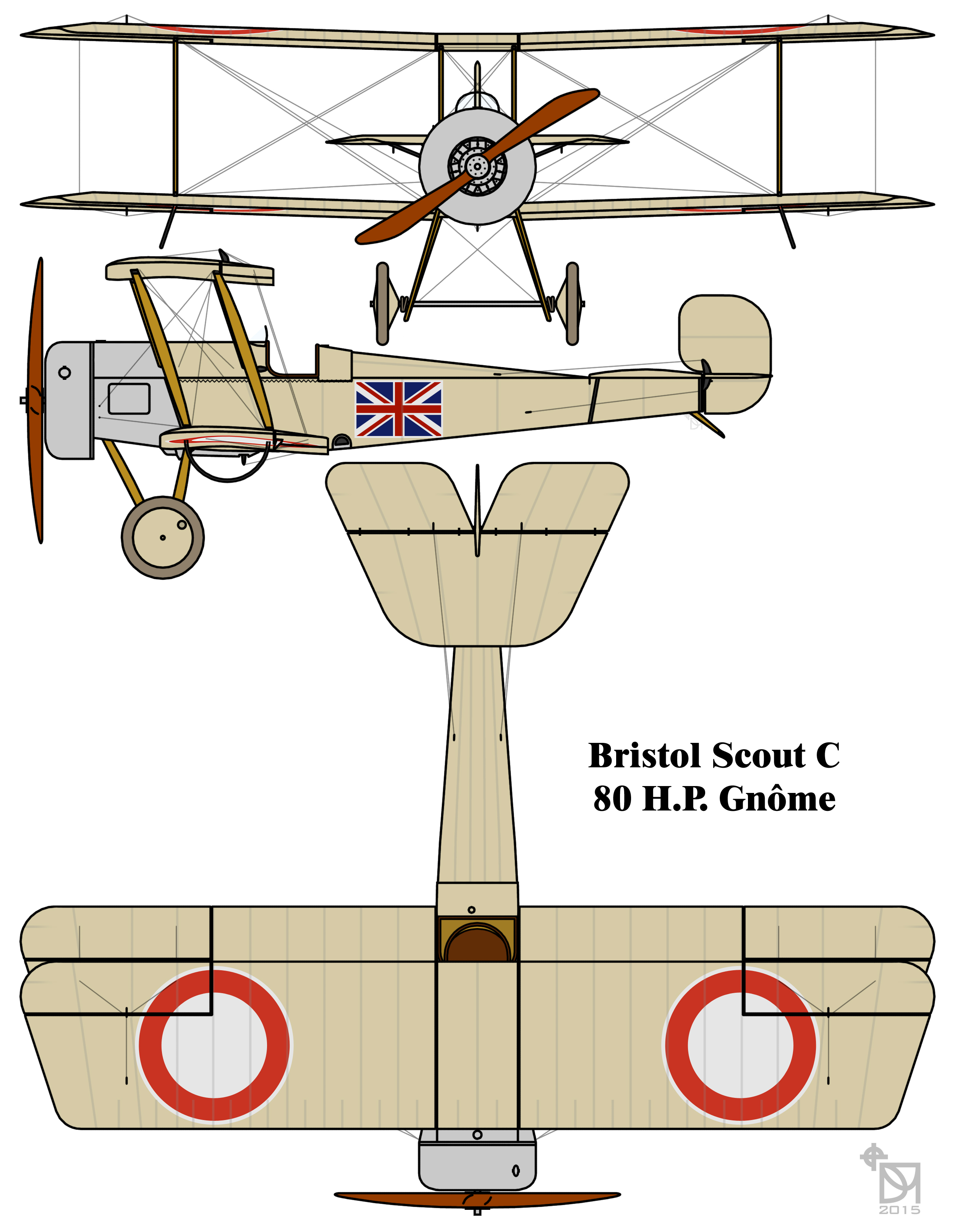 2500x3224 Filebristol Scout C British First World War Fighter Biplane
