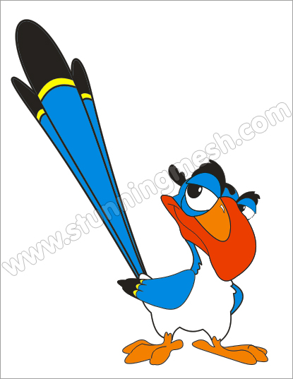 415x537 Bezier Tool In Coreldraw To Make Cartoon Bird Stunning Mesh