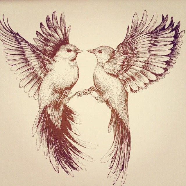 640x640 Drawing Some Birds Oh So Pretty Lt3 Bird, Tattoo