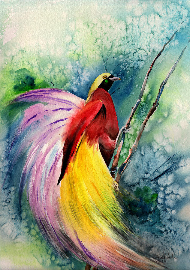 It's just a picture of Zany Bird Of Paradise Drawing