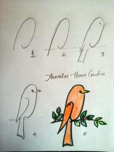 236x314 Cuando El Pajaro Canta Es Hora De Buscar Drawings